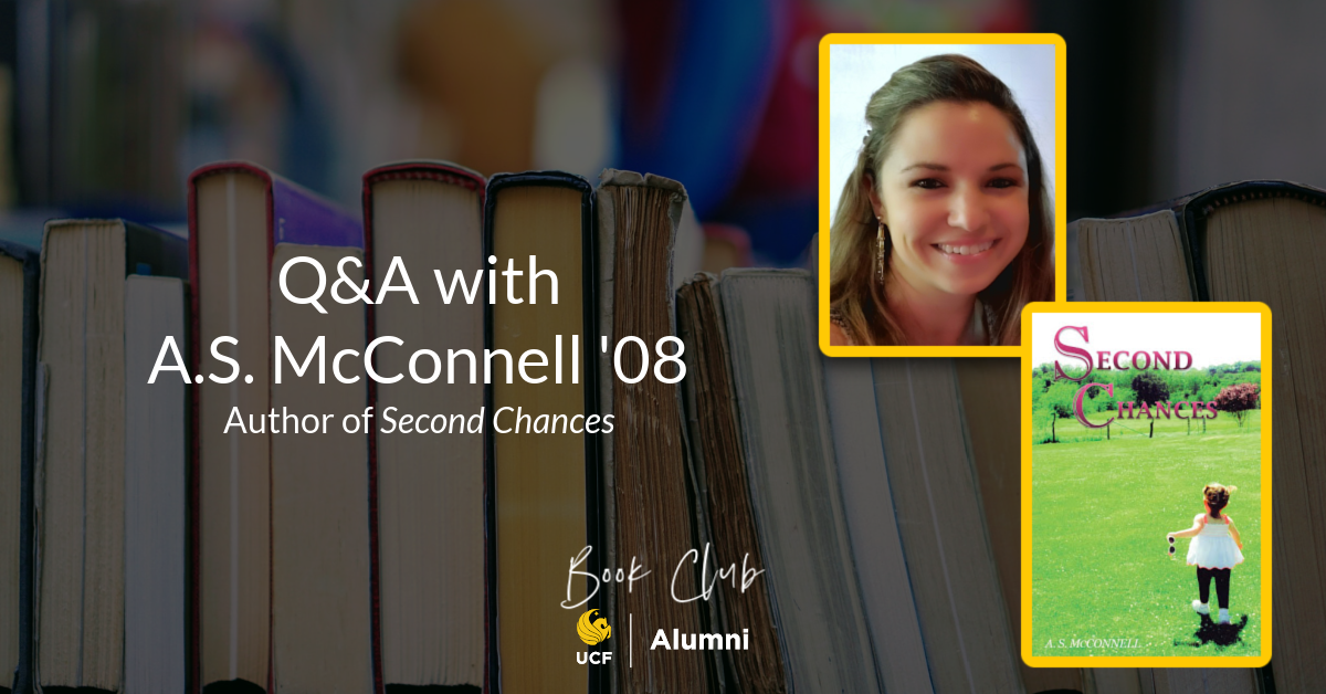 Author Spotlight: A.S. McConnell '08
