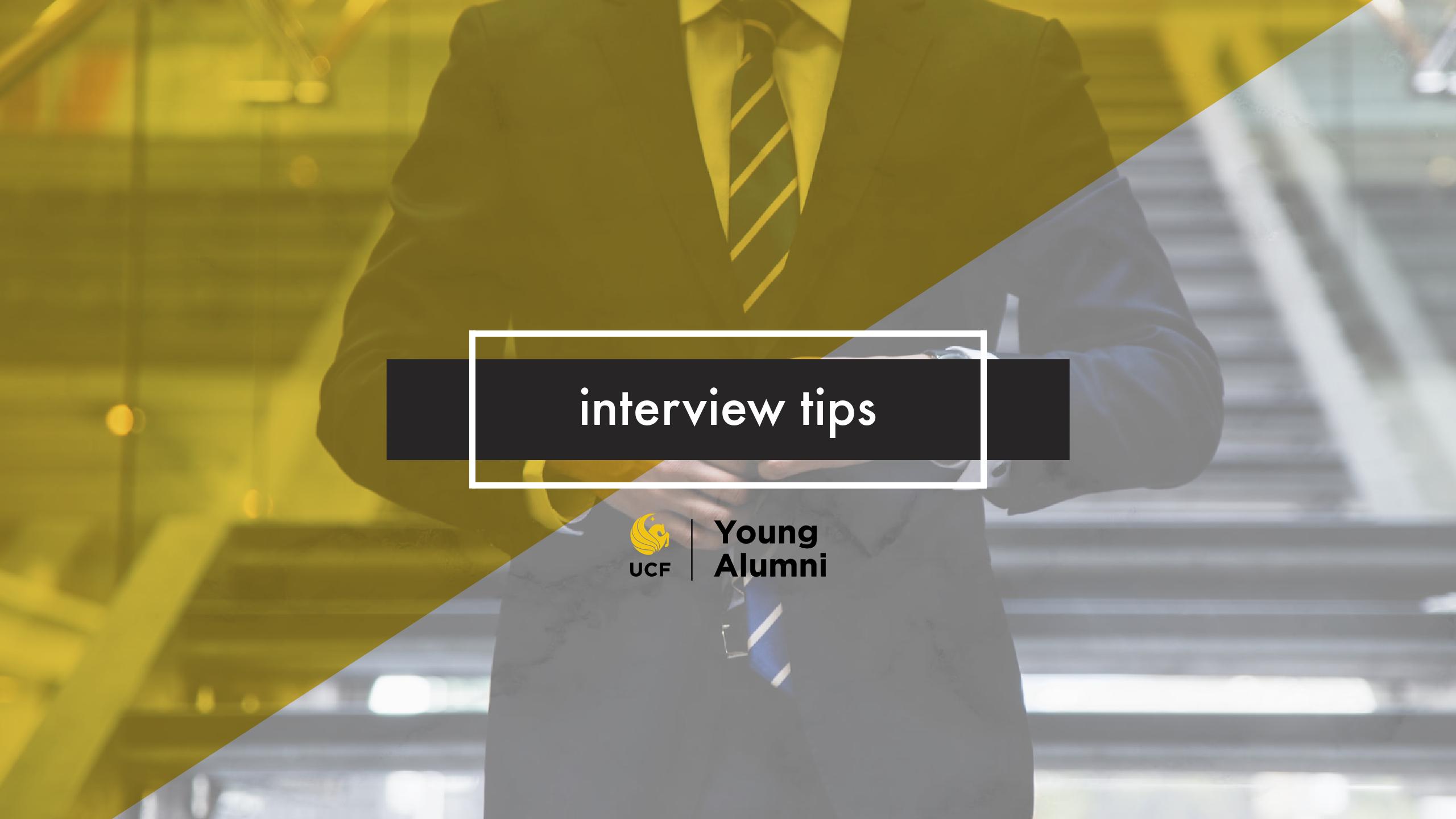 Webinar Recap: Nailing the Interview