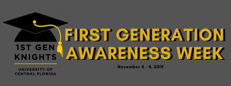 First Generation Awareness Week at UCF