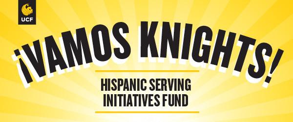 UCF logo with text: Vamos Knights