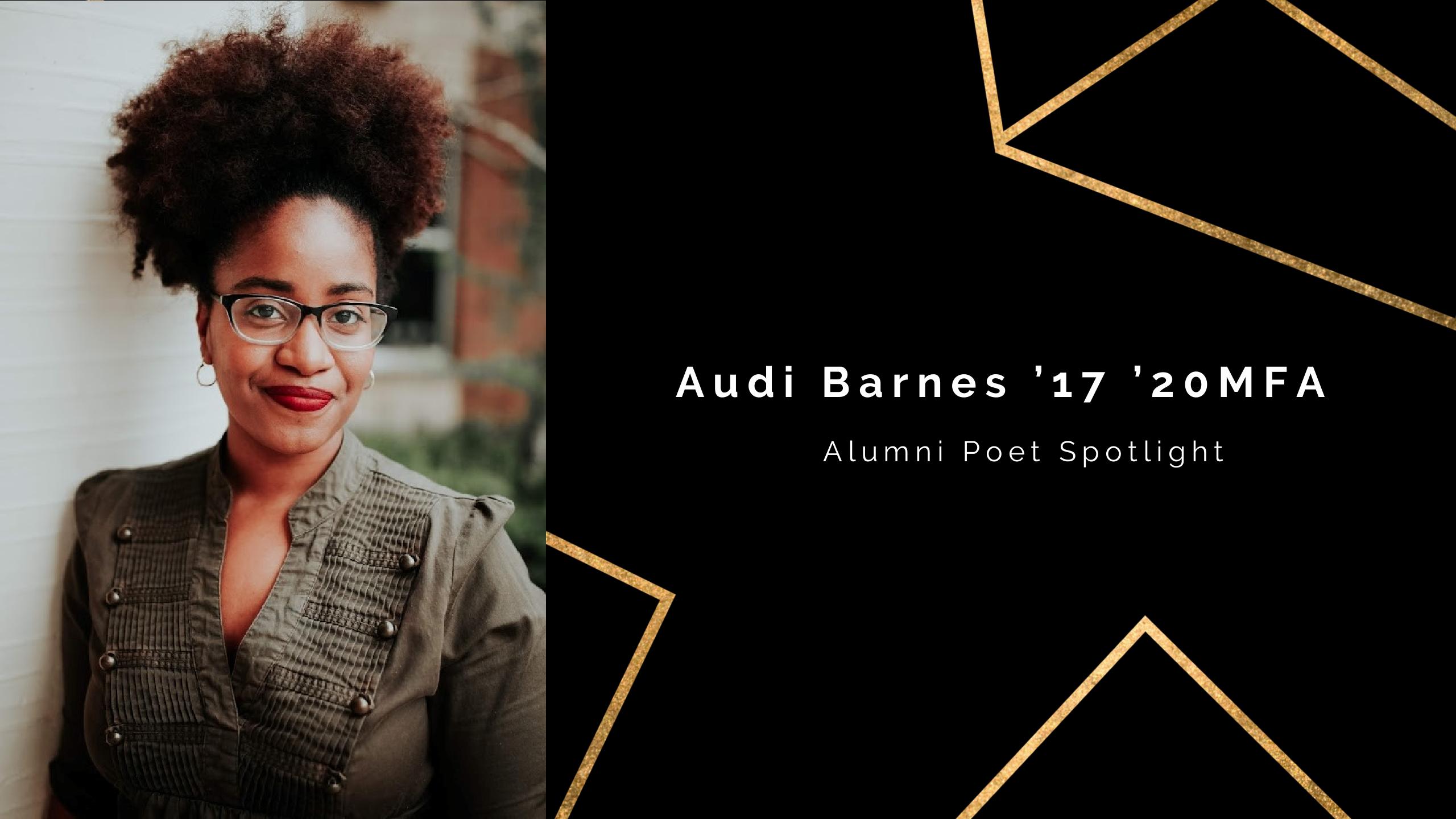UCF Poet Spotlight: Audi Barnes