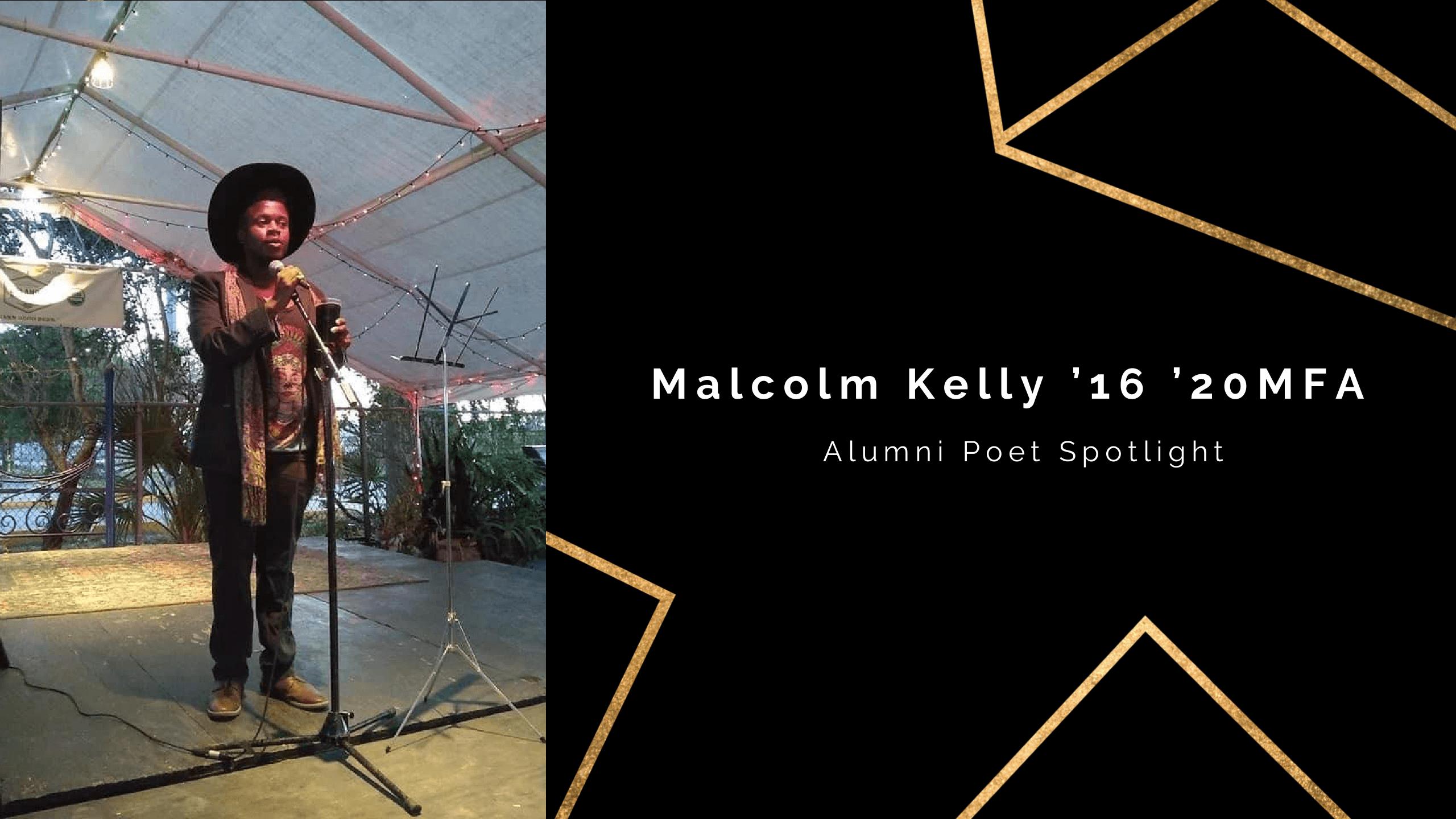 UCF Poet Spotlight: Malcolm Kelly