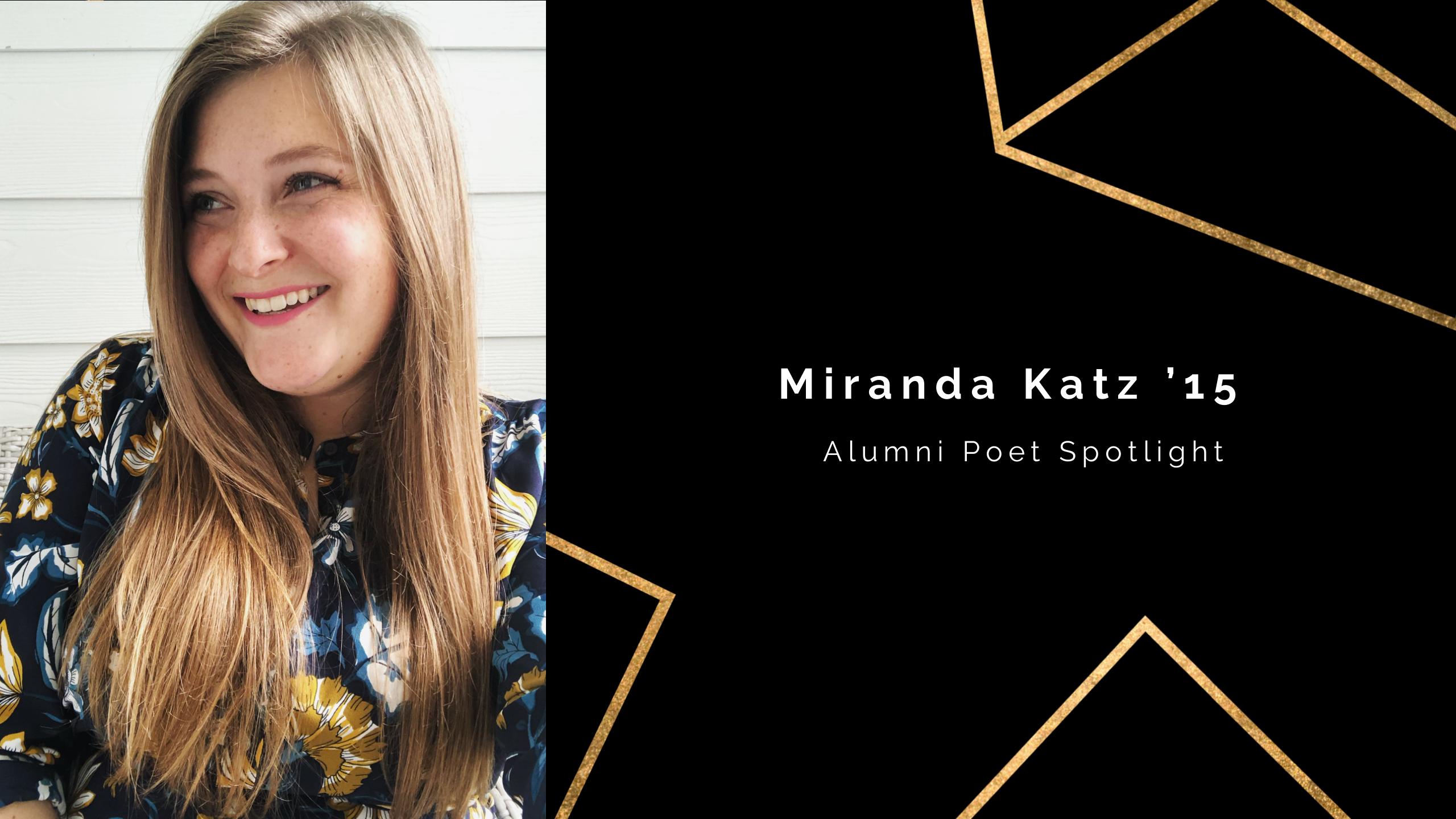 UCF Poet Spotlight: Miranda Katz