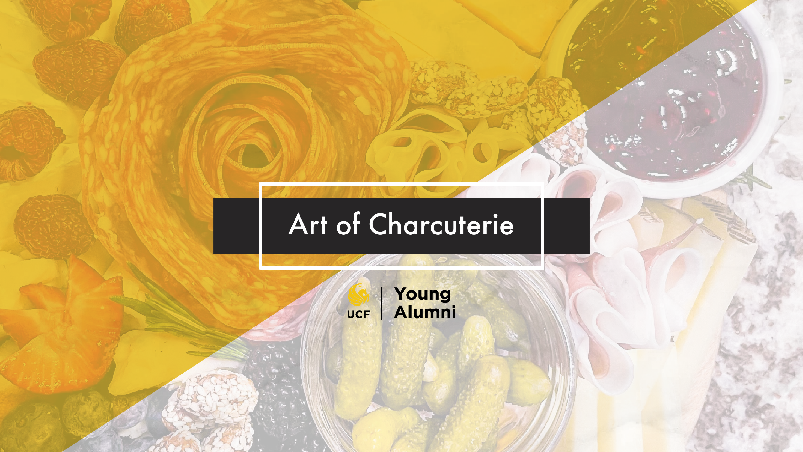 Image of meat and cheese board with text that reads: Art of Charcuterie