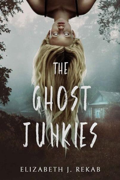 Book cover of novel The Ghost Junkies, by Elizabeth J. Rekab
