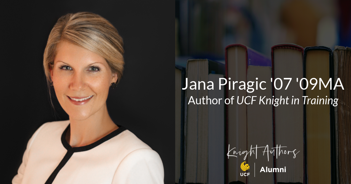 Author Spotlight: Jana Piragic '07'09MA
