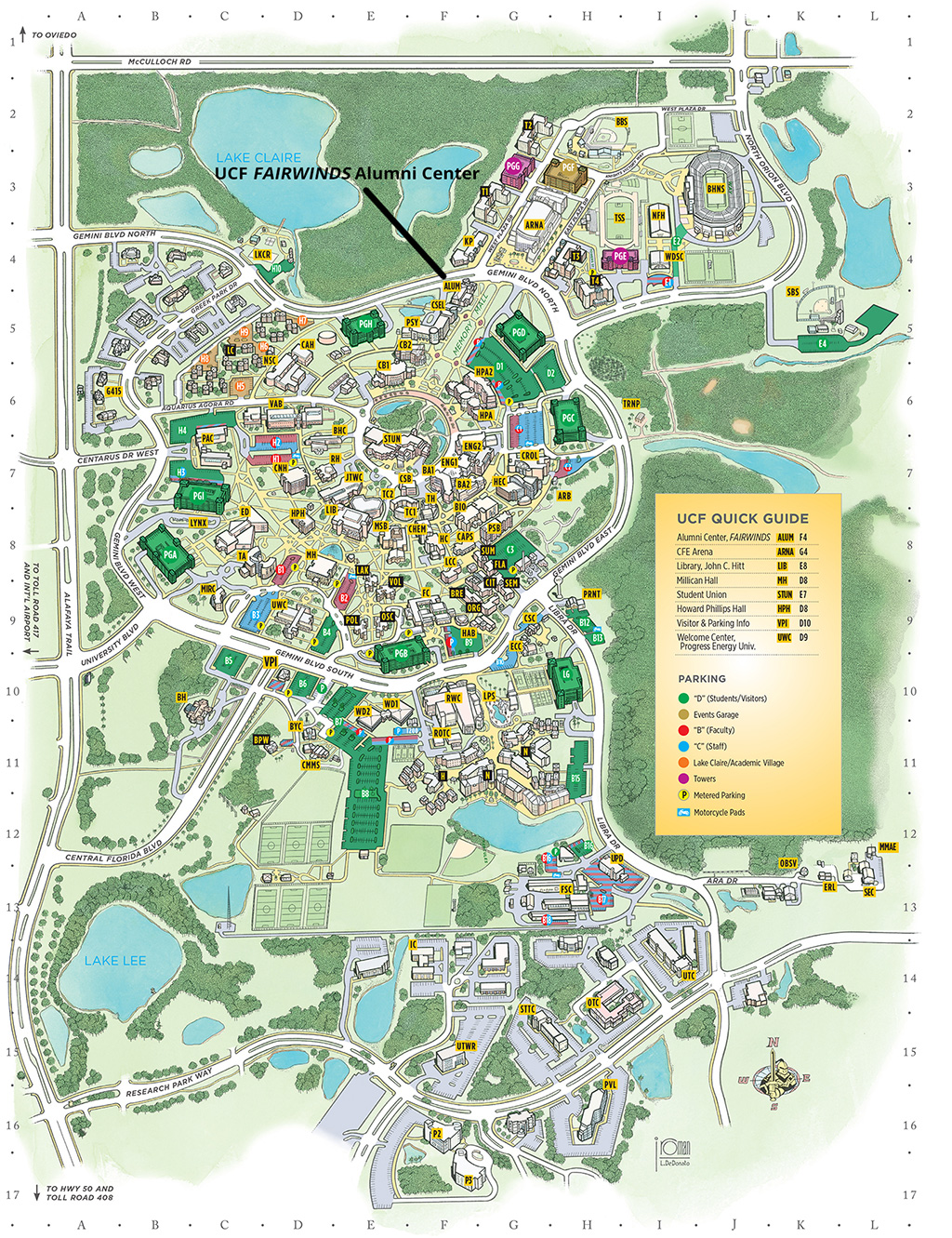 ucf campus map with Alumnicenter on Alumnicenter likewise 49635 moreover Location moreover Challenge Course in addition Careers.