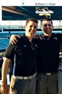 Photo of UCF alumni Eric DeSalvo and Brandon Naidus