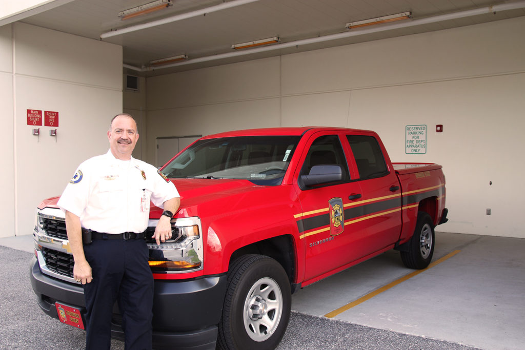 Parallel Careers: Nursing Alumnus Shares His Experiences From Firetrucks to Emergency Rooms