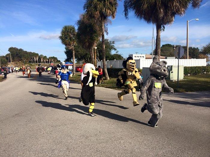 Mascot Marathon