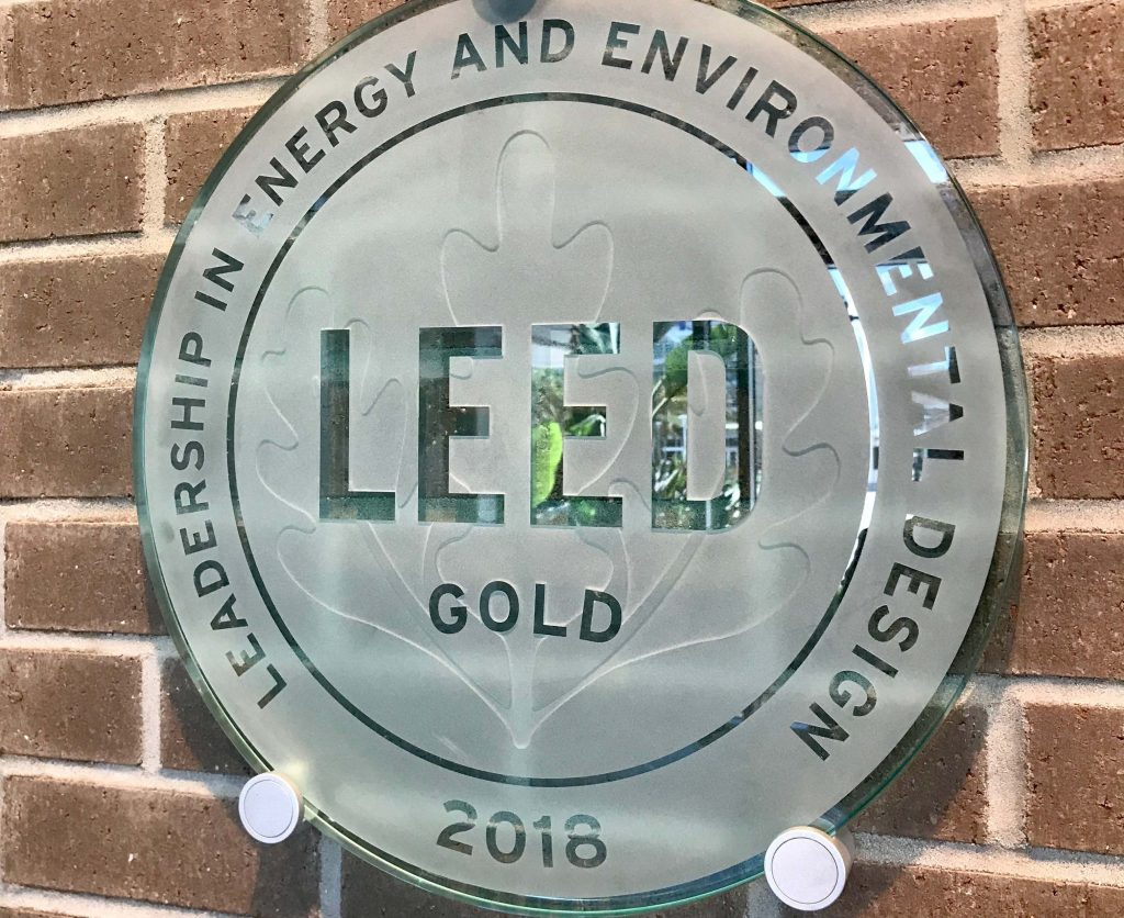 UCF FAIRWINDS Alumni Center LEEDs the Way in Sustainability
