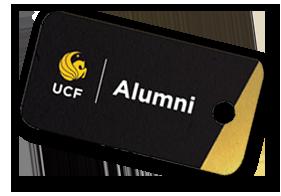 UCF Alumni keycard