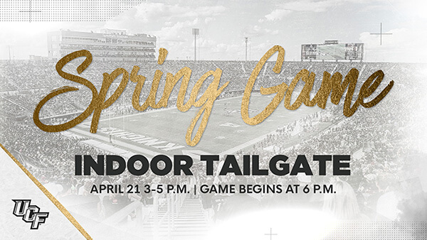 Spring Game Indoor Tailgate Graphic